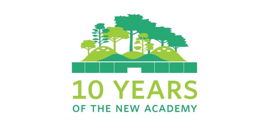 The Academy's 10th Anniversary Celebration logo