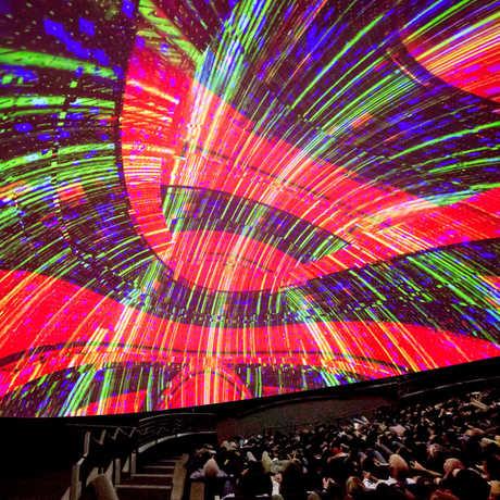 vortex 2.0 Morrison Planetarium calacademy nightlife