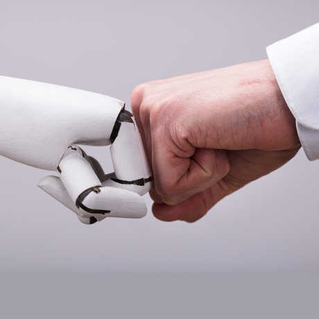 Robot Fist bump