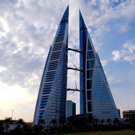 Bahrain World Trade Center, Cajetan Barretto/Flickr