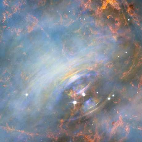 the Crab Nebula, NASA and ESA