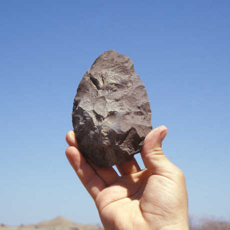 Stone tool found at Dikika