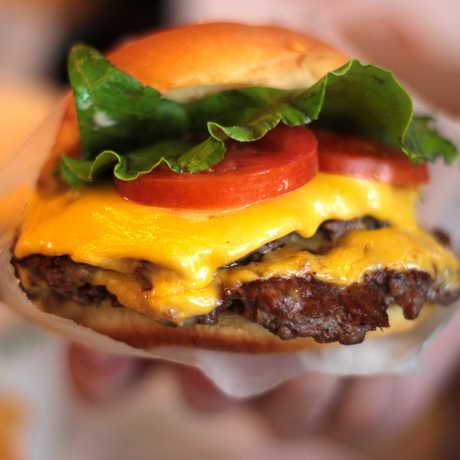 hamburger, cheeseburger