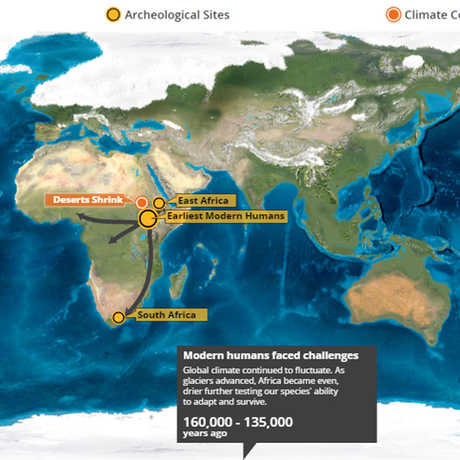 human odyssey map