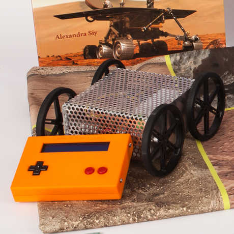 Mars rover from the Astronomy classroom kit