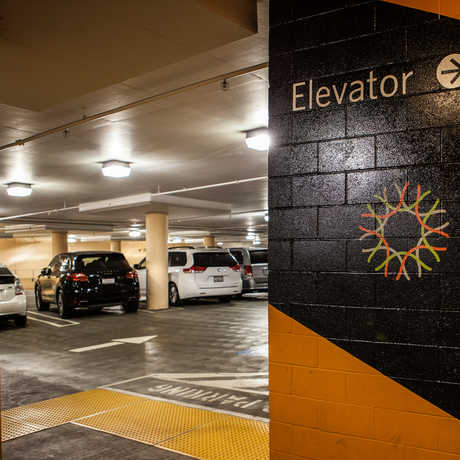 The Music Concourse Parking Facility.