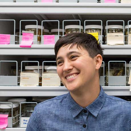 Lauren Esposito at California Academy of Sciences