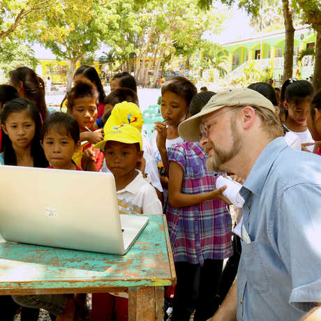Biodiversity outreach on Verde Island