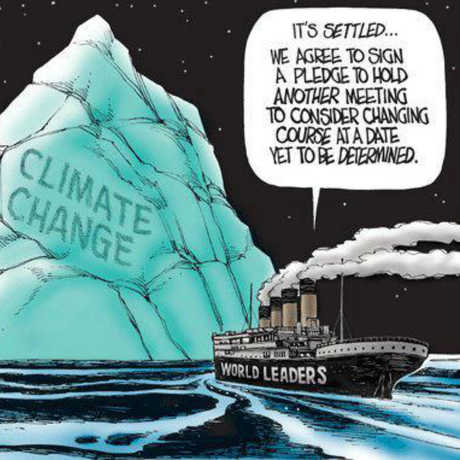 Cartoon by D. Horsey