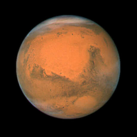 The planet Mars, image by NASA