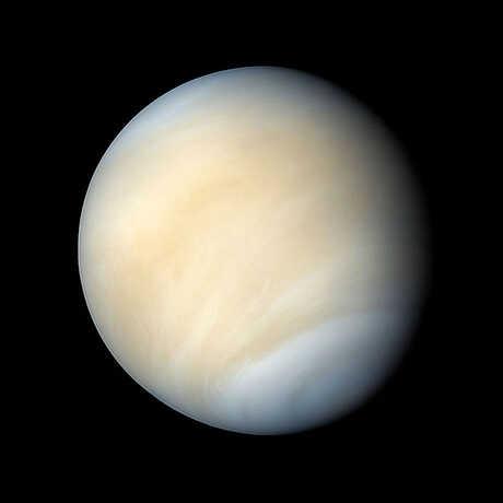 The planet venus, image by NASA/Caltec/JPL