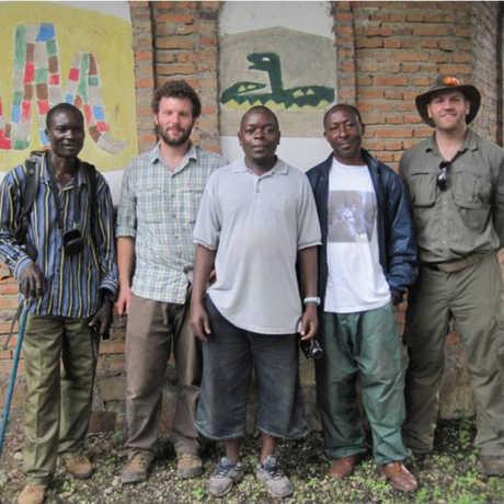 The team in Burundi