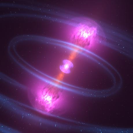 What happens when neutron stars collide?