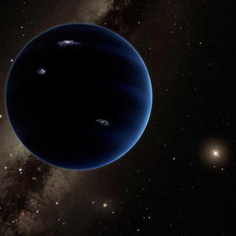NASA Planet Nine Artist Depiction