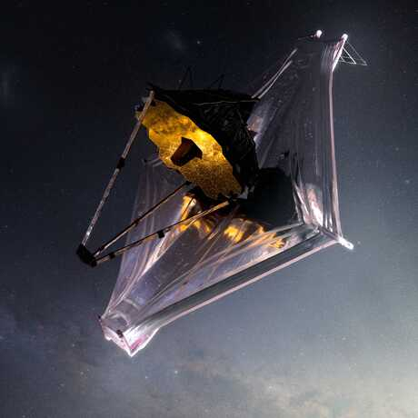 Artist conception of the James Webb Space Telescope