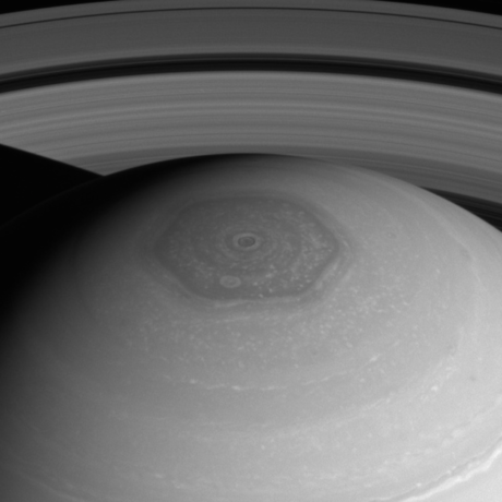 Saturn's Northern Polar Hexagon