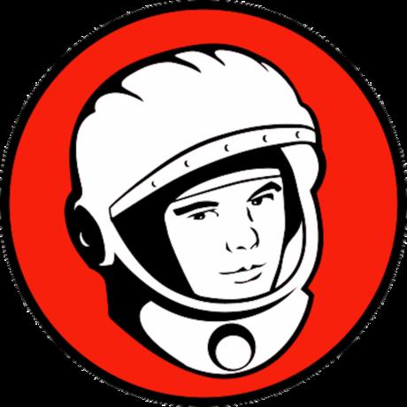 Yuri Gagarin Night Logo, Fair use, https://en.wikipedia.org/w/index.php?curid=45094304