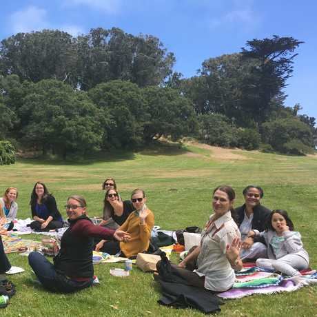 Academy Women in Excellence on a picnic outing