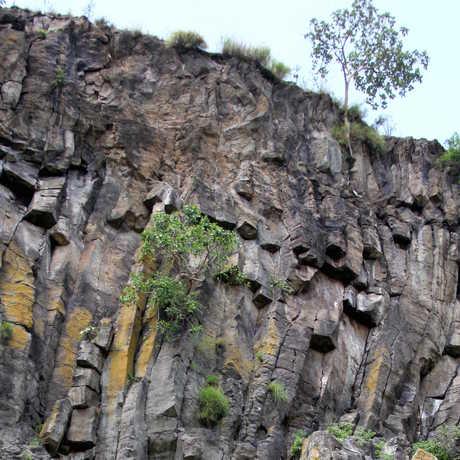 The caldera walls of Corbetti volcano, Ethiopia, William Hutchison (University of Oxford)