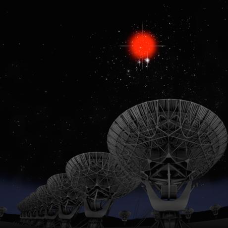 Illustration Credit: Bill Saxton, NRAO/AUI/NSF; Hubble Legacy Archive, ESA, NASA