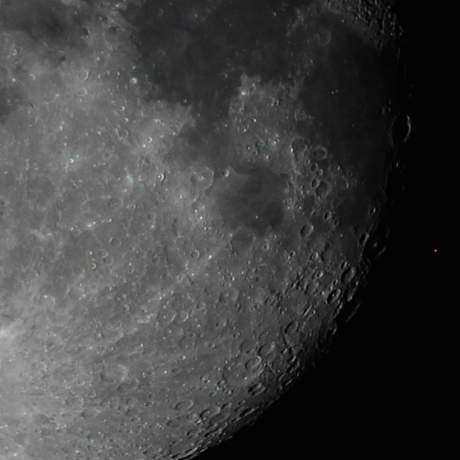 Occultation of Aldebaran by the Moon, 29 October 2015 by Christina Irakleous