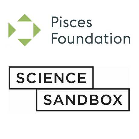 Pisces Foundation and Science Sandbox logos