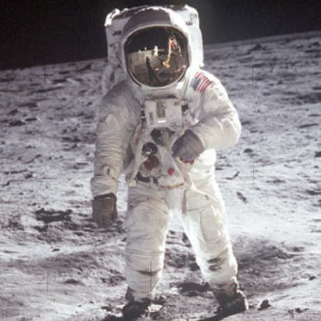 Astronaut on the Moon, NASA