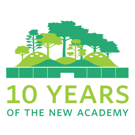 10 Years of the New Academy logo