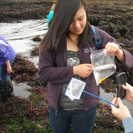 Students from the 2014 Summer Systematics Institute