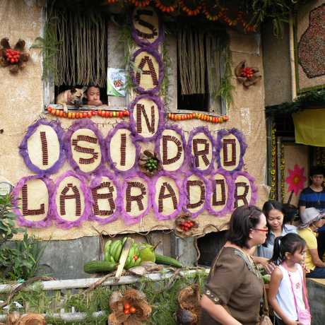 The festival is the feast day of San Isidro Labrador, the patron saint of the city.
