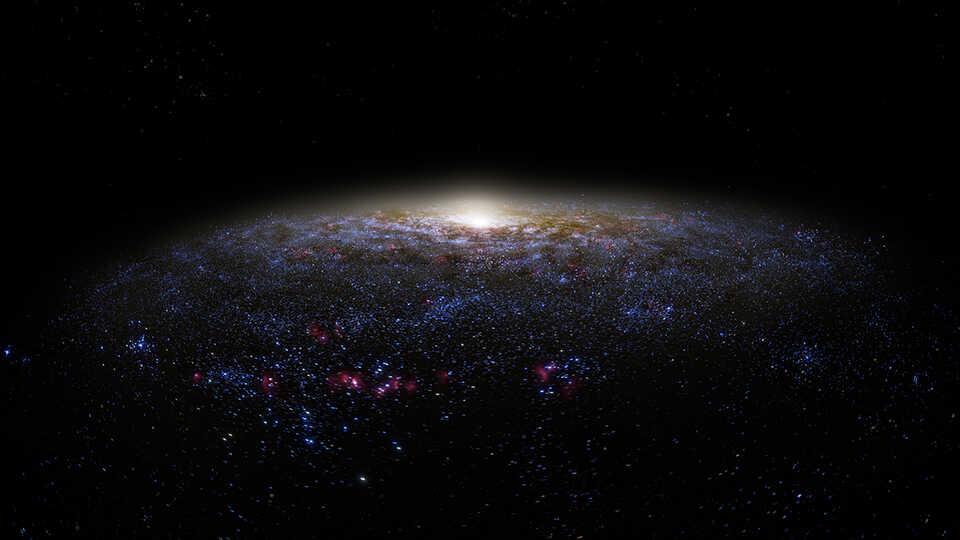 tour of the universe calacademy planetarium nightlife