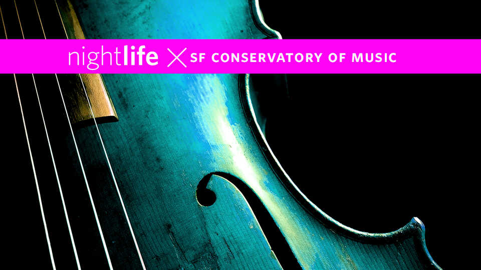 Explore the museum while enjoying live, acoustic performances by San Francisco Conservatory of Music.