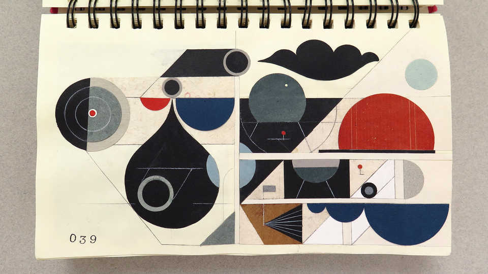 LV Sketchbook Page 039 (Carbon Dioxide)