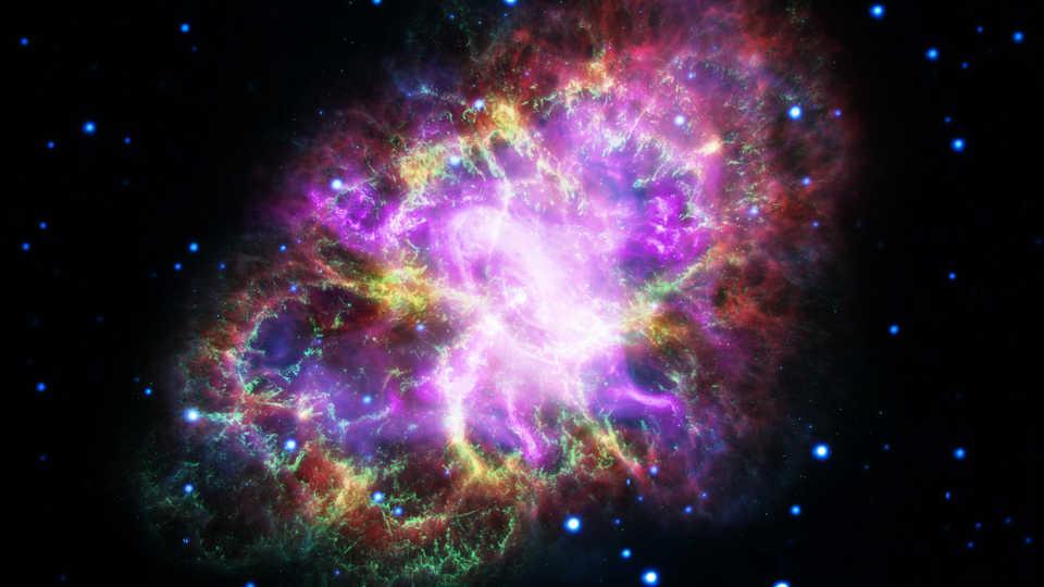 The composite multi-wavelength Crab Nebula