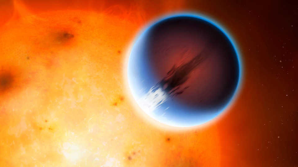 How do we know what the atmosphere of extrasolar planet HD189733b is like?