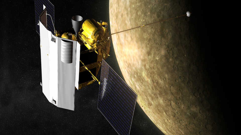 space probes of mercury - HD 1200×800