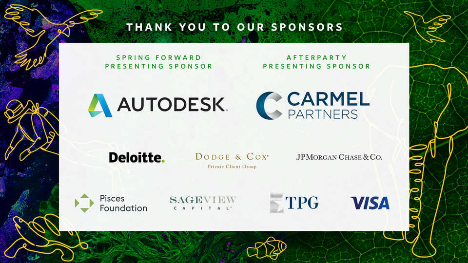 Spring Forward corporate sponsor logos