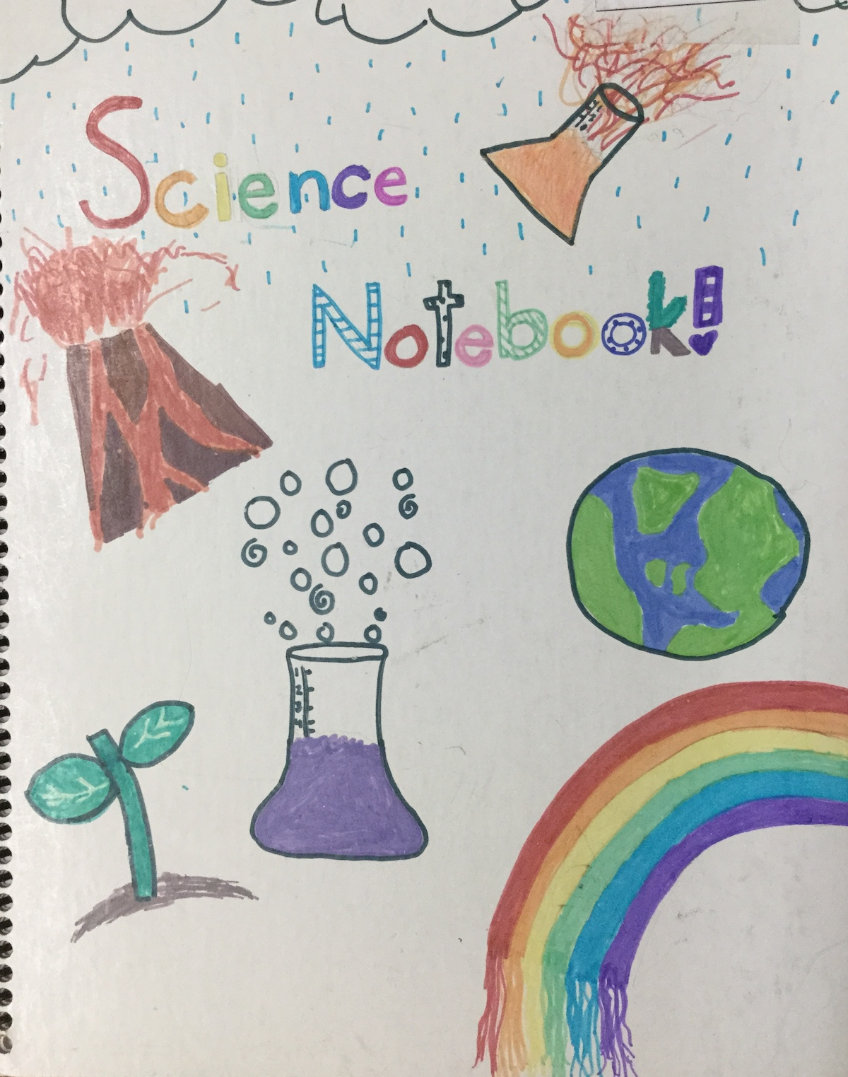 Book Cover Design On Science And Nature : Lesson plan decorate your science notebook